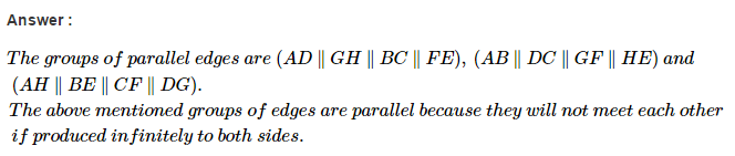 Parallel Lines RS Aggarwal Class 6 Maths Solutions 2.1