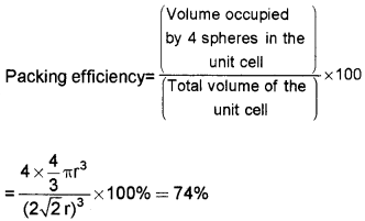 Plus Two Chemistry Chapter Wise Questions and Answers Chapter 1 The Solid State 3M Q6.1