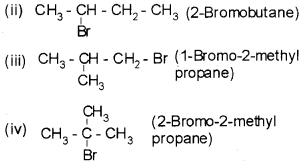 Plus Two Chemistry Chapter Wise Questions and Answers Chapter 10 Haloalkanes And Haloarenes 4M Q9