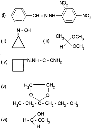Plus Two Chemistry Chapter Wise Questions and Answers Chapter 12 Aldehydes, Ketones and Carboxylic Acids 3M Q6