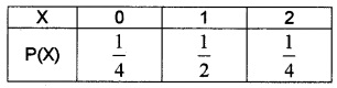Plus Two Maths Chapter Wise Questions and Answers Chapter 13 Probability 3M Q12