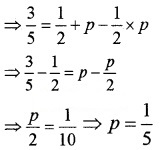 Plus Two Maths Chapter Wise Questions and Answers Chapter 13 Probability 3M Q8
