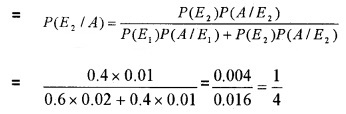 Plus Two Maths Chapter Wise Questions and Answers Chapter 13 Probability 4M Q10