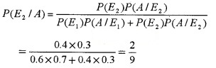 Plus Two Maths Chapter Wise Questions and Answers Chapter 13 Probability 4M Q12