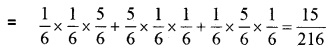 Plus Two Maths Chapter Wise Questions and Answers Chapter 13 Probability 4M Q13.1