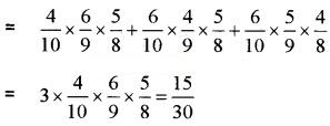 Plus Two Maths Chapter Wise Questions and Answers Chapter 13 Probability 4M Q14