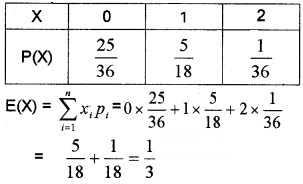 Plus Two Maths Chapter Wise Questions and Answers Chapter 13 Probability 4M Q15.1