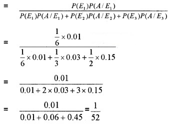 Plus Two Maths Chapter Wise Questions and Answers Chapter 13 Probability 4M Q9.1