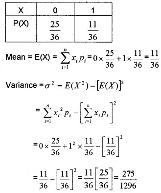 Plus Two Maths Chapter Wise Questions and Answers Chapter 13 Probability 6M Q11.1