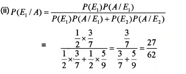 Plus Two Maths Chapter Wise Questions and Answers Chapter 13 Probability 6M Q12.2