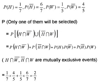Plus Two Maths Chapter Wise Questions and Answers Chapter 13 Probability 6M Q4
