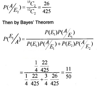 Plus Two Maths Chapter Wise Questions and Answers Chapter 13 Probability 6M Q7.3