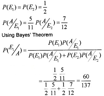 Plus Two Maths Chapter Wise Questions and Answers Chapter 13 Probability 6M Q7