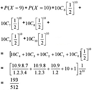 Plus Two Maths Chapter Wise Questions and Answers Chapter 13 Probability 6M Q9.2