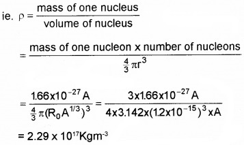 Plus Two Physics Chapter Wise Questions and Answers Chapter 13 Nuclei Textbook Questions Q4