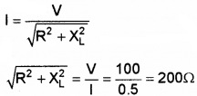 Plus Two Physics Chapter Wise Questions and Answers Chapter 7 Alternating Current 5M Q2.3