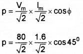 Plus Two Physics Chapter Wise Questions and Answers Chapter 7 Alternating Current 5M Q3