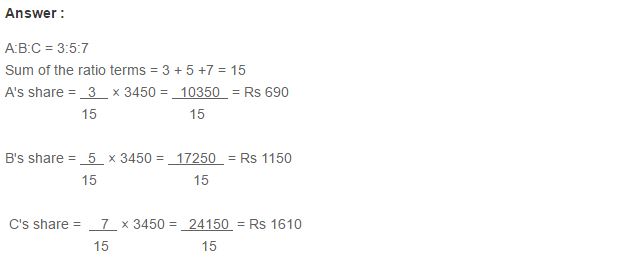 Ratio Proportion and Unitary Method RS Aggarwal Class 6 Maths Solutions Ex 10A 1.14