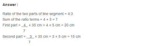 Ratio Proportion and Unitary Method RS Aggarwal Class 6 Maths Solutions Ex 10A 1.16