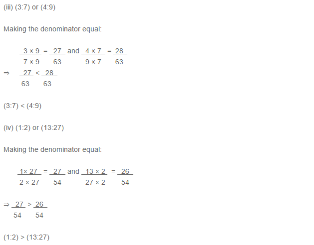 Ratio Proportion and Unitary Method RS Aggarwal Class 6 Maths Solutions Ex 10A 1.25
