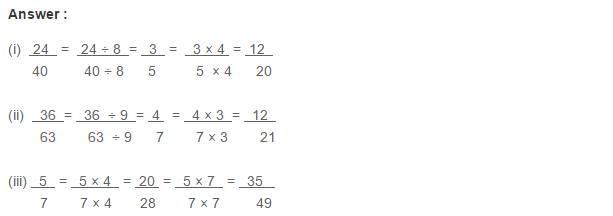 Ratio Proportion and Unitary Method RS Aggarwal Class 6 Maths Solutions Ex 10A 1.26