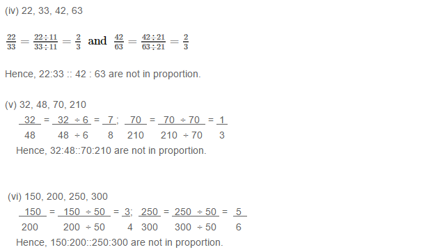 Ratio Proportion and Unitary Method RS Aggarwal Class 6 Maths Solutions Ex 10B 1.2