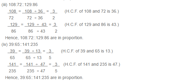 Ratio Proportion and Unitary Method RS Aggarwal Class 6 Maths Solutions Ex 10B 2.2