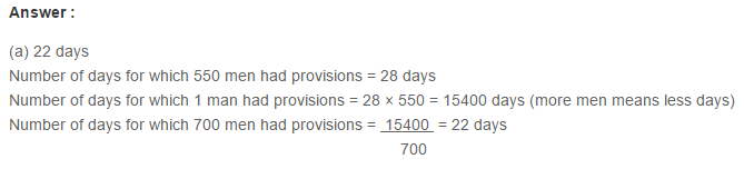 Ratio Proportion and Unitary Method RS Aggarwal Class 6 Maths Solutions Ex 10D 16.1