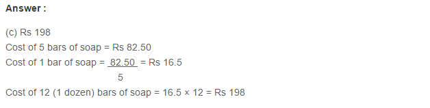Ratio Proportion and Unitary Method RS Aggarwal Class 6 Maths Solutions Ex 10D 20.1