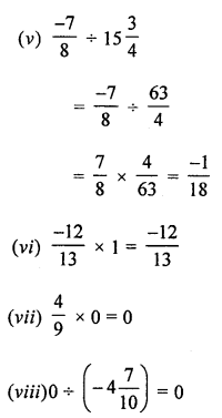 ML Aggarwal Class 8 Solutions for ICSE Maths Chapter 1 Rational Numbers Check Your Progress Q1.4