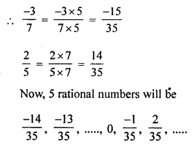 ML Aggarwal Class 8 Solutions for ICSE Maths Chapter 1 Rational Numbers Check Your Progress Q10.1