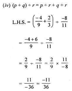 ML Aggarwal Class 8 Solutions for ICSE Maths Chapter 1 Rational Numbers Check Your Progress Q11.4
