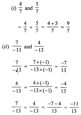 ML Aggarwal Class 8 Solutions for ICSE Maths Chapter 1 Rational Numbers Ex 1.1 Q1.2