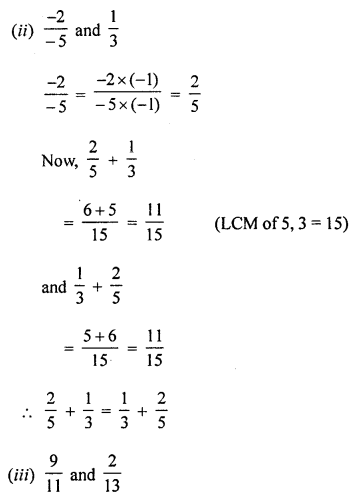 ML Aggarwal Class 8 Solutions for ICSE Maths Chapter 1 Rational Numbers Ex 1.1 Q3.3