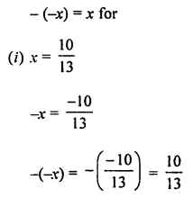 ML Aggarwal Class 8 Solutions for ICSE Maths Chapter 1 Rational Numbers Ex 1.1 Q5.1