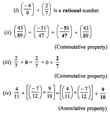 ML Aggarwal Class 8 Solutions for ICSE Maths Chapter 1 Rational Numbers Ex 1.1 Q7.2