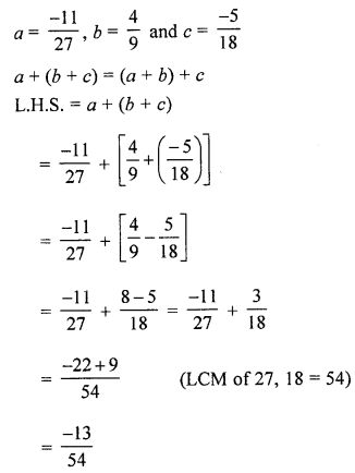 ML Aggarwal Class 8 Solutions for ICSE Maths Chapter 1 Rational Numbers Ex 1.1 Q8.1