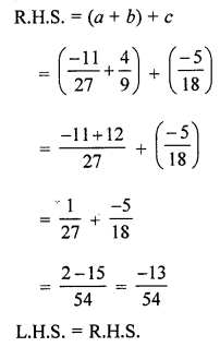 ML Aggarwal Class 8 Solutions for ICSE Maths Chapter 1 Rational Numbers Ex 1.1 Q8.2
