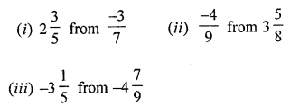 ML Aggarwal Class 8 Solutions for ICSE Maths Chapter 1 Rational Numbers Ex 1.2 Q1.1