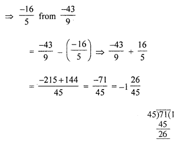 ML Aggarwal Class 8 Solutions for ICSE Maths Chapter 1 Rational Numbers Ex 1.2 Q1.4