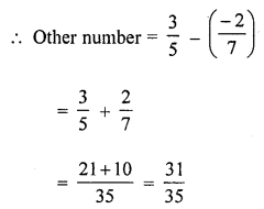 ML Aggarwal Class 8 Solutions for ICSE Maths Chapter 1 Rational Numbers Ex 1.2 Q2.1