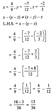 ML Aggarwal Class 8 Solutions for ICSE Maths Chapter 1 Rational Numbers Ex 1.2 Q7.1