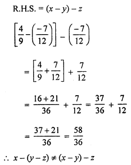 ML Aggarwal Class 8 Solutions for ICSE Maths Chapter 1 Rational Numbers Ex 1.2 Q7.2