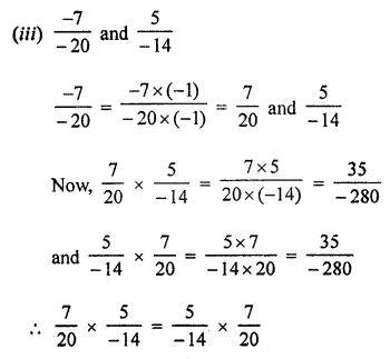 ML Aggarwal Class 8 Solutions for ICSE Maths Chapter 1 Rational Numbers Ex 1.3 Q2.2