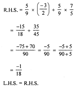 ML Aggarwal Class 8 Solutions for ICSE Maths Chapter 1 Rational Numbers Ex 1.3 Q3.4