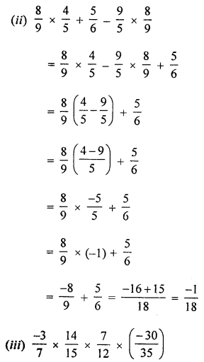 ML Aggarwal Class 8 Solutions for ICSE Maths Chapter 1 Rational Numbers Ex 1.3 Q5.4