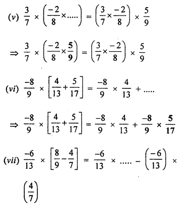 ML Aggarwal Class 8 Solutions for ICSE Maths Chapter 1 Rational Numbers Ex 1.3 Q7.3