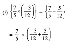 ML Aggarwal Class 8 Solutions for ICSE Maths Chapter 1 Rational Numbers Ex 1.3 Q9.2
