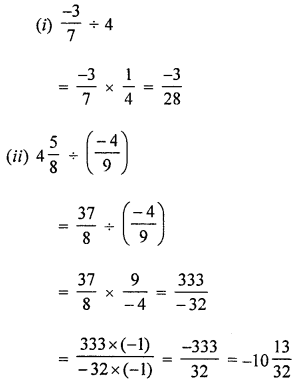 ML Aggarwal Class 8 Solutions for ICSE Maths Chapter 1 Rational Numbers Ex 1.4 Q1.2