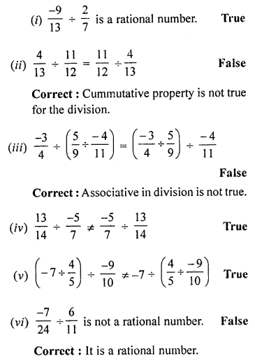 ML Aggarwal Class 8 Solutions for ICSE Maths Chapter 1 Rational Numbers Ex 1.4 Q2.2